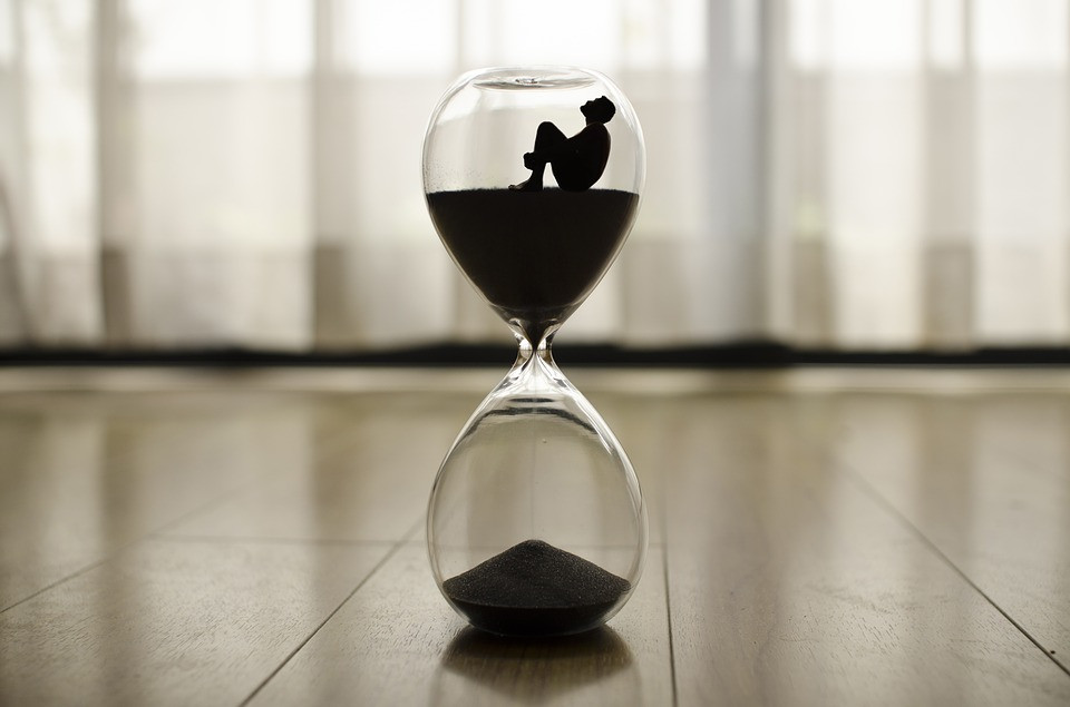 hourglass of life