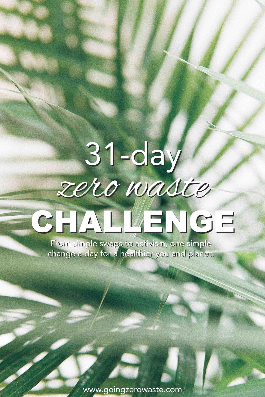 31-Day zero waste challenge