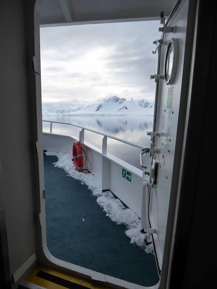 Morning in Antarctica