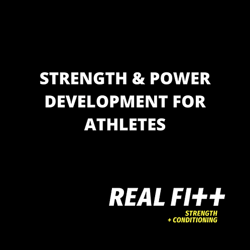 Strength & Power Development for Athletes -eBook