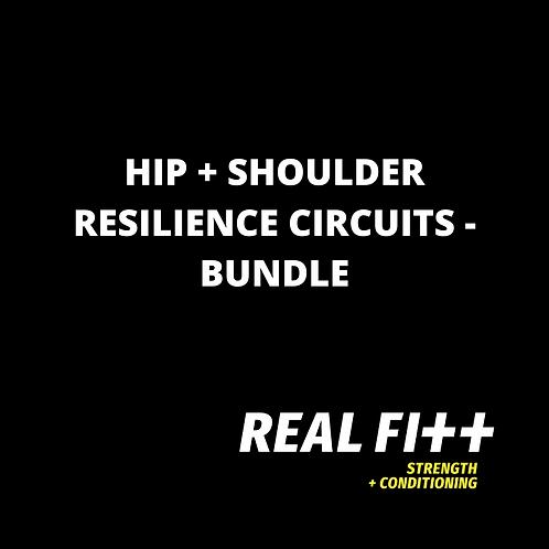 Hip + Shoulder Resilience Circuits Bundle