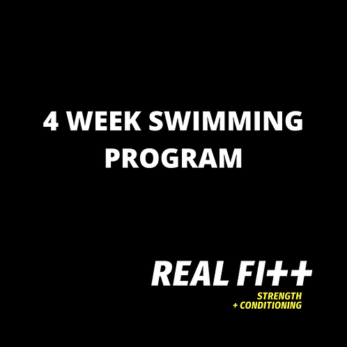 4 Week Beginner Swim Program