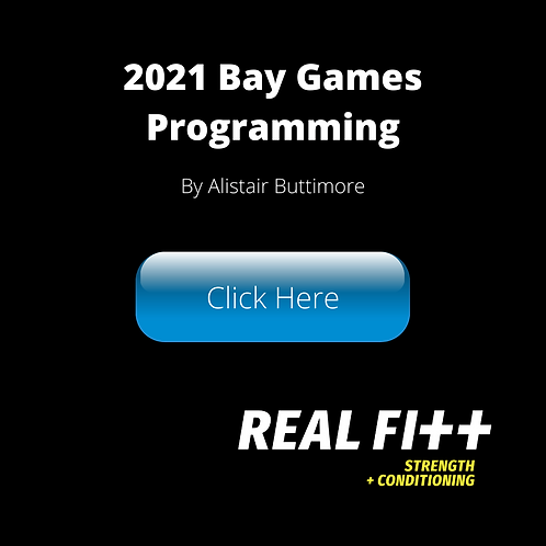 Bay Games 2021 Programming Only