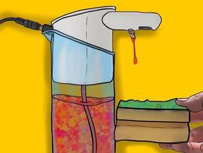 Washing up liquid dispenser