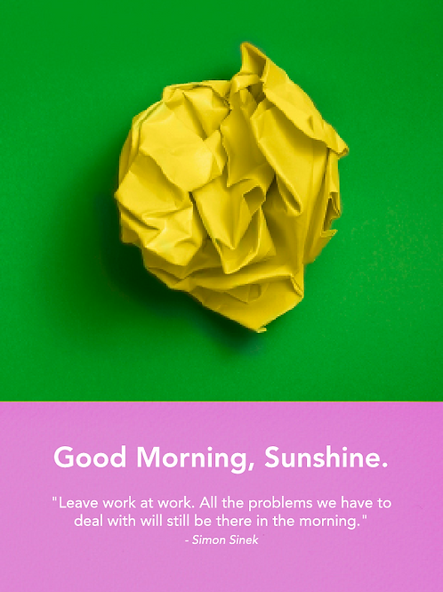 Sunshine Poster #5