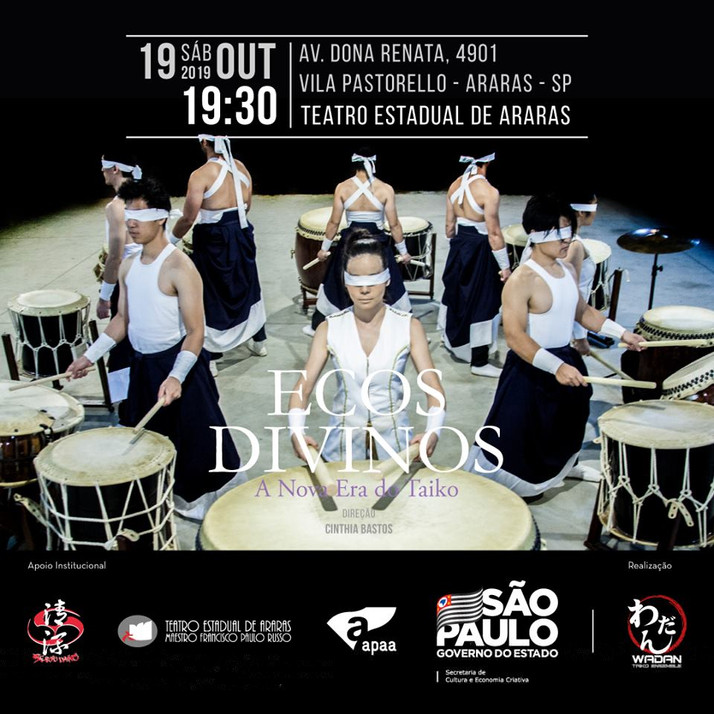 Ecos Divinos - A nova Era do Taiko