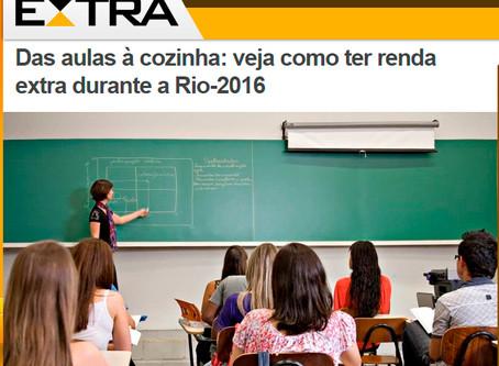 Das aulas à cozinha: veja como ter renda extra durante a Rio-2016