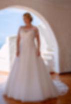 Brautkleid Bella 20126W, Vorderansicht