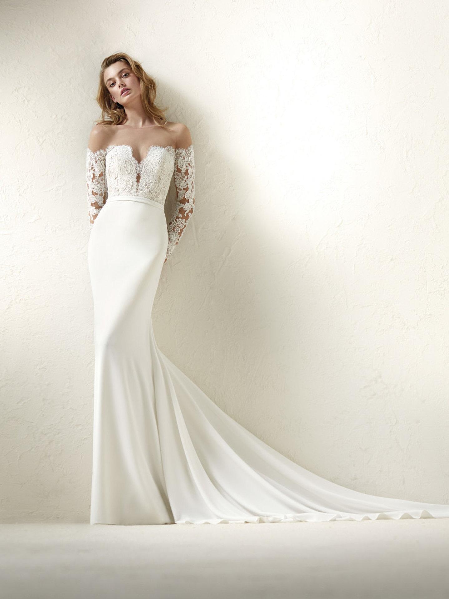 Fein Seidencharmeuse Hochzeitskleid Bilder - Hochzeit Kleid Stile ...