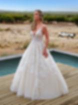 Brautkleid Kachar Ladosa 10019, Vorderansicht