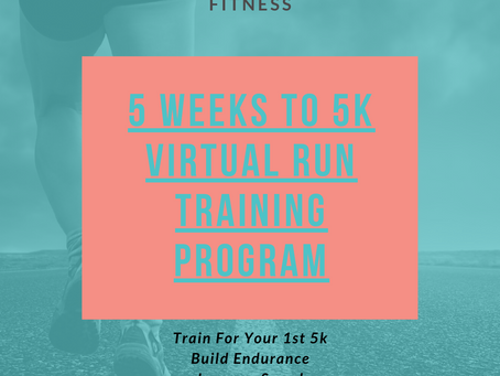 Okay, Who Is Ready to 5k? 5 Weeks to 5k Run Training Program Starts June 1st!
