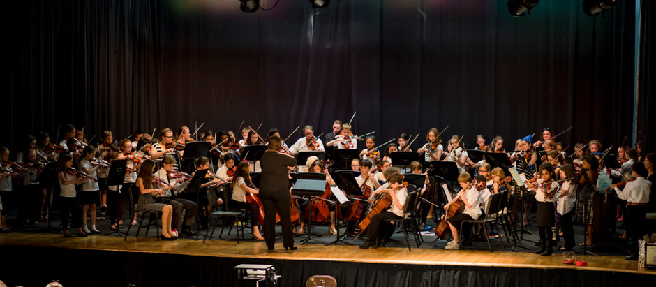 "CSP Youth Orchestra Earns ""Superior"" at Orchestra Festival"