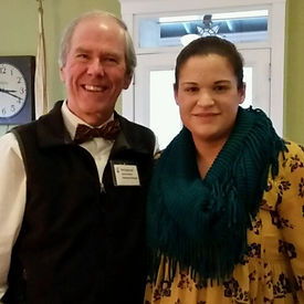 Robert Arsenault and Bethany Sousa