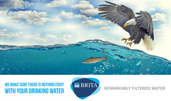Campaign created for Brita for highlighting the advanced technology that could filter tap water.