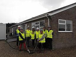Rackheath Pavilion Start of works 2018
