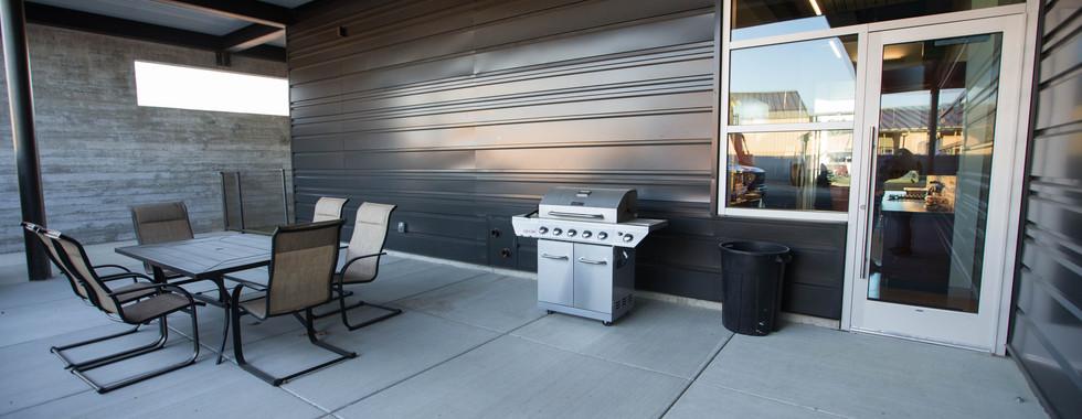 BBQ & Patio Area