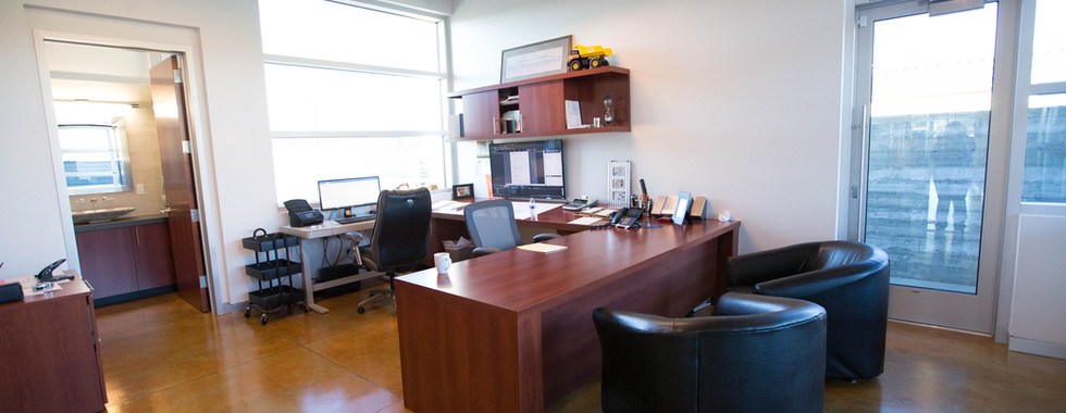 Fred's Office