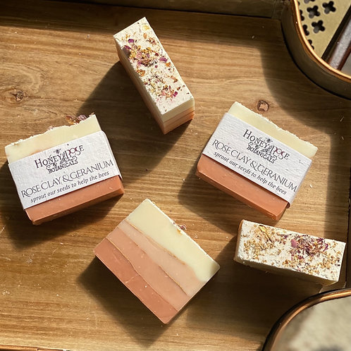 Rose Clay & Geranium Soap