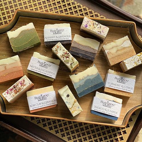 Plants & Clay Soap Set