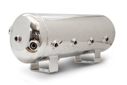 Aluminium polished 5Gallon 9port air tank
