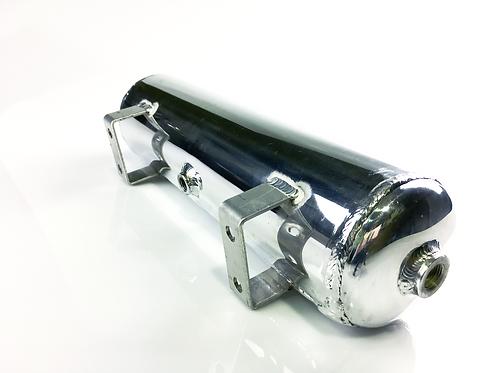 Aluminium polished 1 Gallon air tank