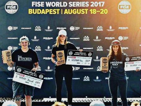 Nikita Ducarroz, world No.2 and BLACK+DECKER™ team rider is raising the bar for Women's BMX