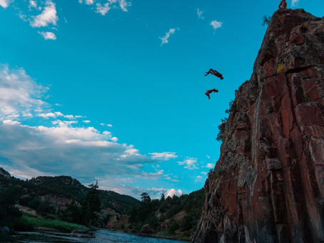 """Justin """"Jay"""" Briggs and Robert Wall: First-ever Freestyle Cliff Jumpers to join EXTREME"""