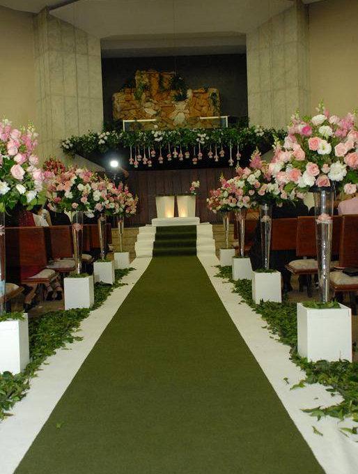 cerimônia com pilastra tulipão