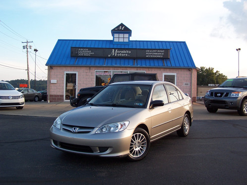 2005 HONDA CIVIC LX SPECIAL EDITION   ONLY 70,765 MILES!