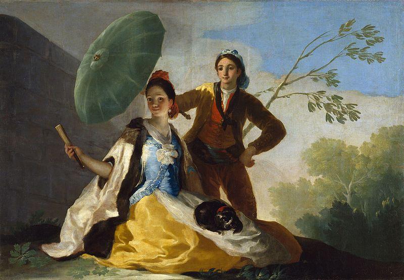 Goya - El quitasol