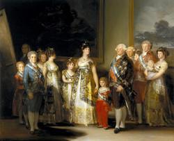 Goya - La familia de Carlos IV