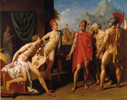 Ingres - The Envoys of Agamemnon