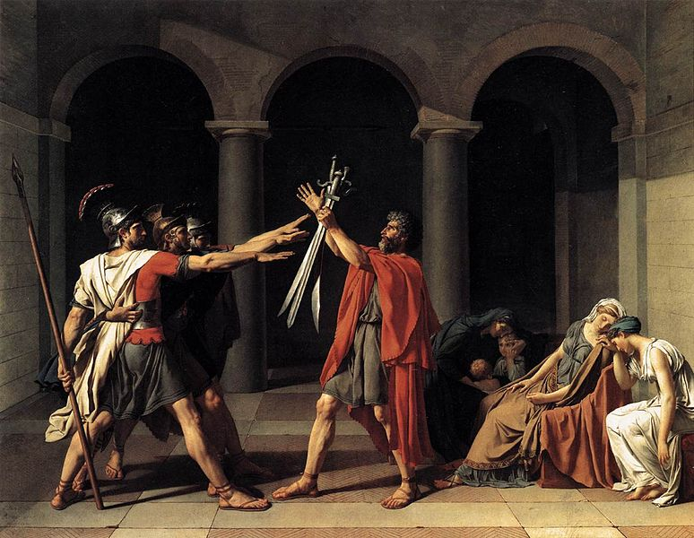 David - Oath of the Horatii