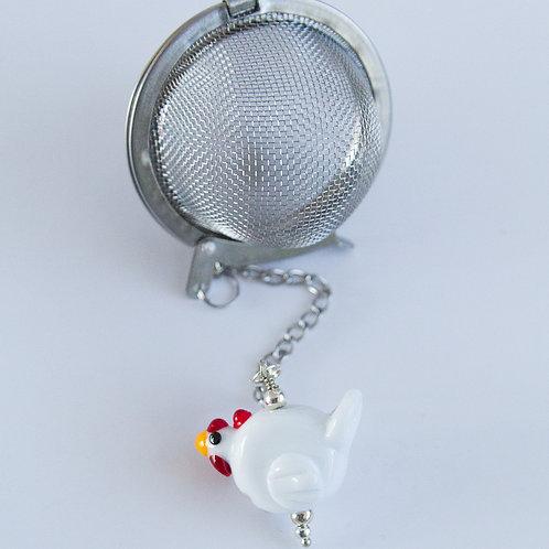 Tea Infuser -White Chicken