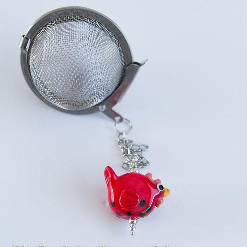 Tea Infuser - Red Chicken