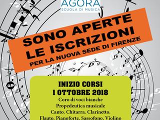 SCUOLA DI MUSICA AGORA'2018