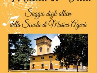 Saggio di fine anno di Agorà a Borgo San Lorenzo. Venerdì 26 Maggio,nella splendida cornice di Villa