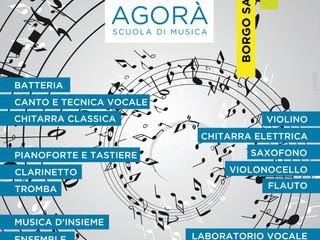 Agorà Scuola di Musica: si aprono le iscrizioni per l'A.S. 2016-2017