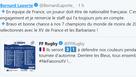 La liste et les engagements de Bernard Laporte pour la Tournée