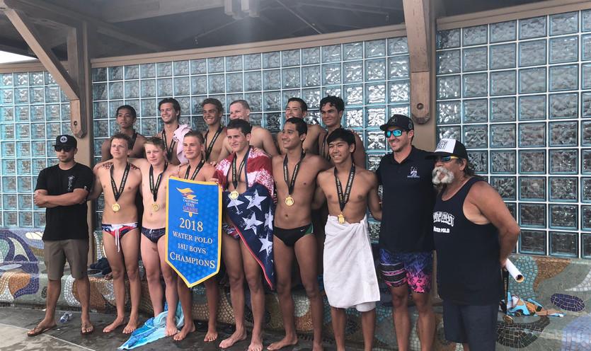 18u Boys Cal State Champions