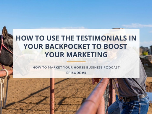 How to Use the Testimonials In Your Backpocket to Boost Your Marketing