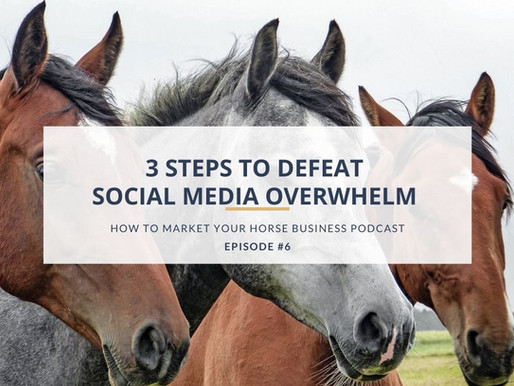 3 Steps to Defeat Social Media Overwhelm