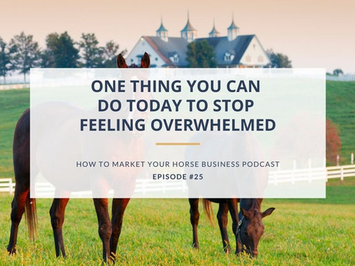 One Thing You Can Do Today to Stop Feeling Overwhelmed