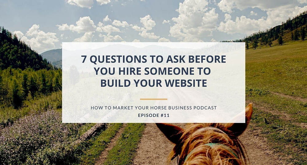 how to market your horse business podcast