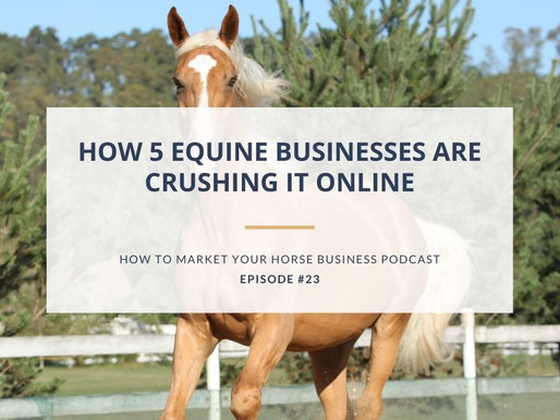 How 5 Equine Businesses Are Crushing It Online