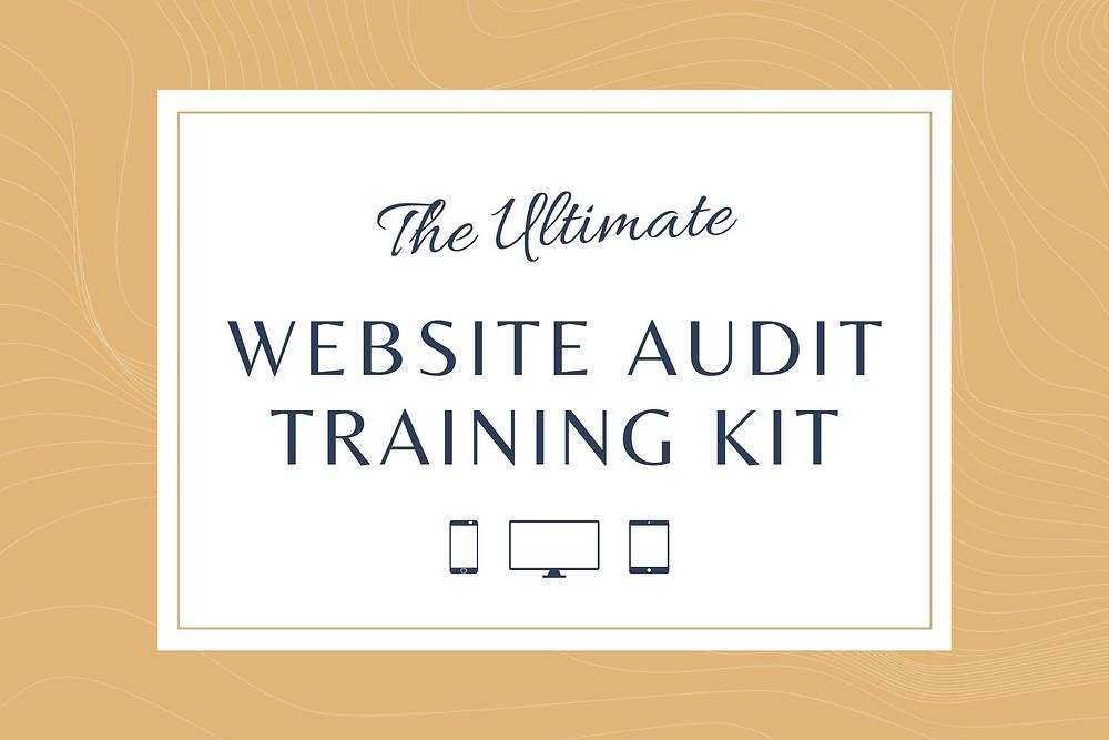 website audit training kit