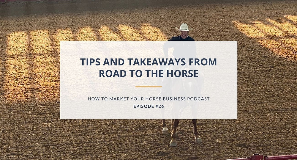 stormlily marketing how to market your horse business podcast episode image