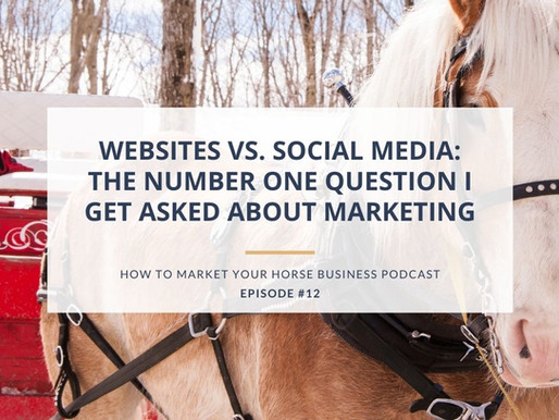Websites vs. Social Media: The Number One Question I Get Asked About Marketing [ENCORE]