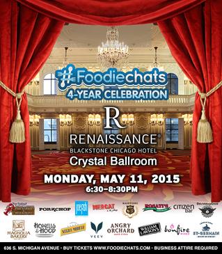 #Foodiechats 4yr Anniversary