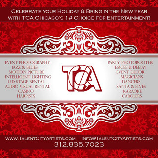 Book Your Holiday Party Today with TCA!